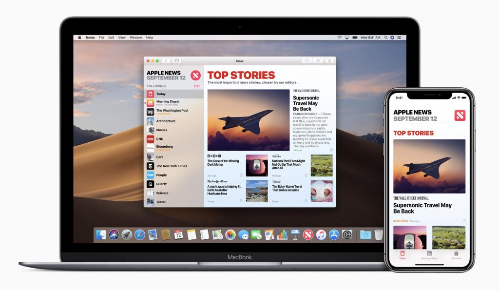 Apple News、Apple 付費新聞服務