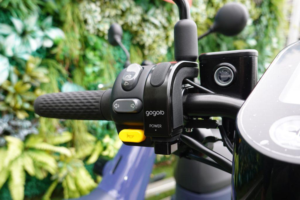 Gogoro VIVA Plus、USB 充電孔