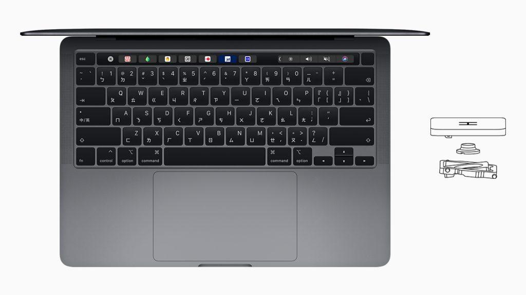 MacBook Pro、剪刀腳鍵盤