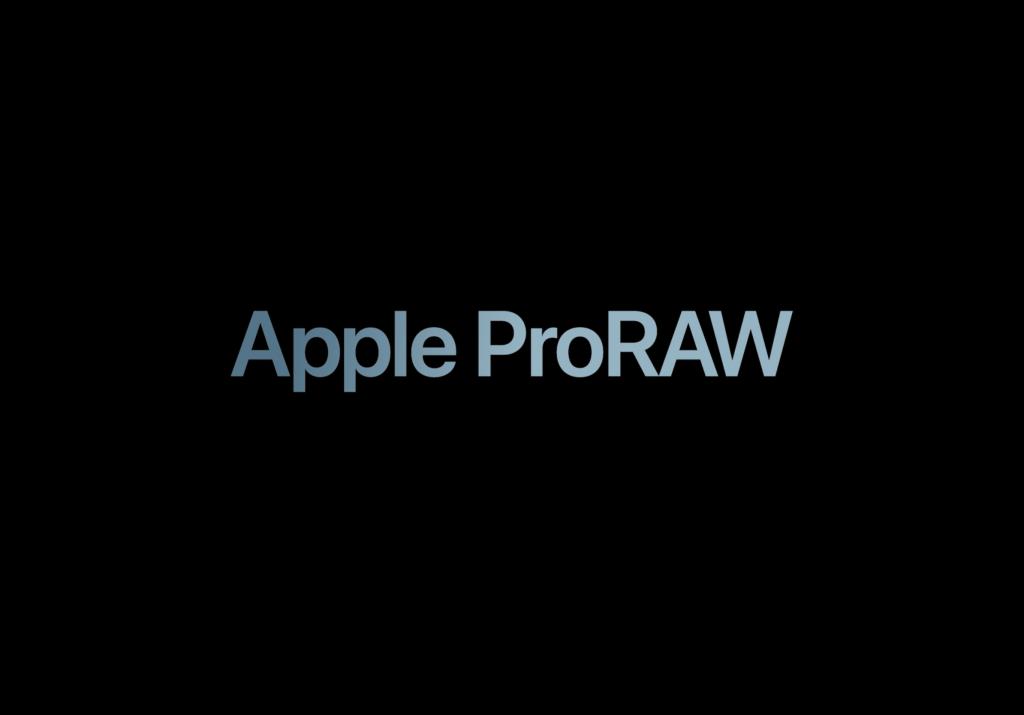 iOS 14.3、Apple ProRAW