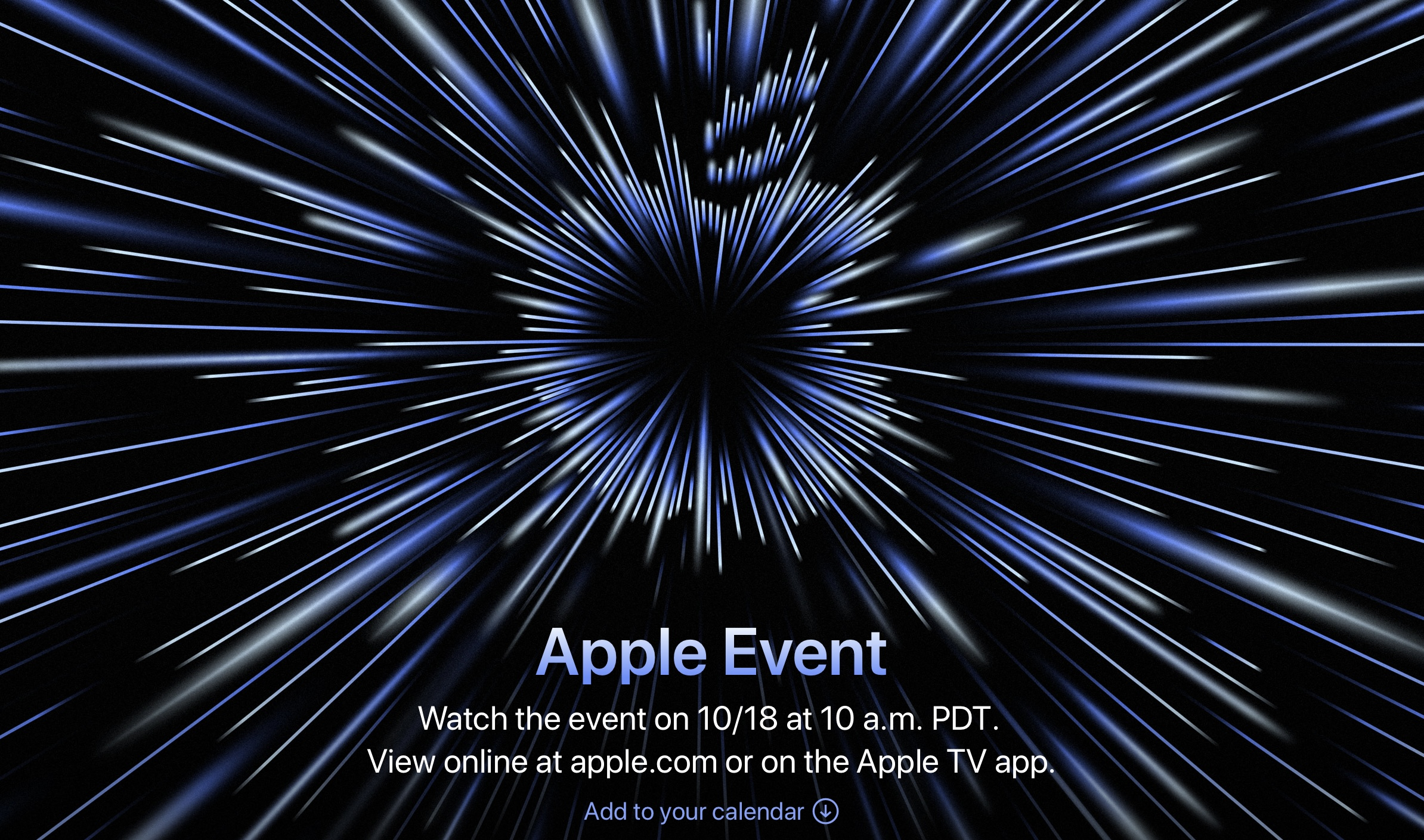 Apple Special Event 2021.10